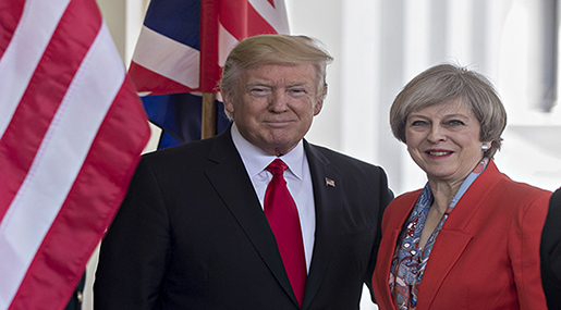 Trump in 2nd UK Visit Immediately after Brexit