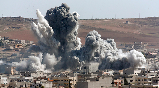 US Bombs Syria, Kills 8 Civilians, Injures Others