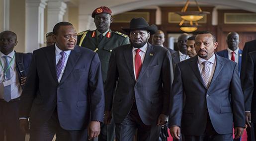 South Sudan: Kiir, Machar Hope for Peace at Khartoum Meeting