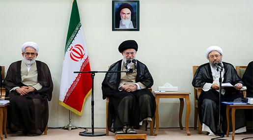 Imam Khamenei Slams West's 'Shameless' Human Rights Pose