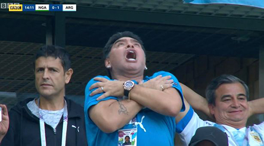 World Cup 2018: Maradona Hospitalized after Argentina-Nigeria Encounter