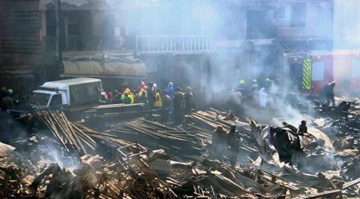 Kenya: Nairobi Market Fire Kills 15, Injures Dozens