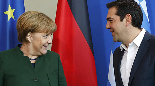 Greek PM Tsipras Open to Deal with Merkel to Take Back Migrants