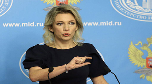 Zakharova: Terrorist Organizations in S Syria Should Be Eliminated