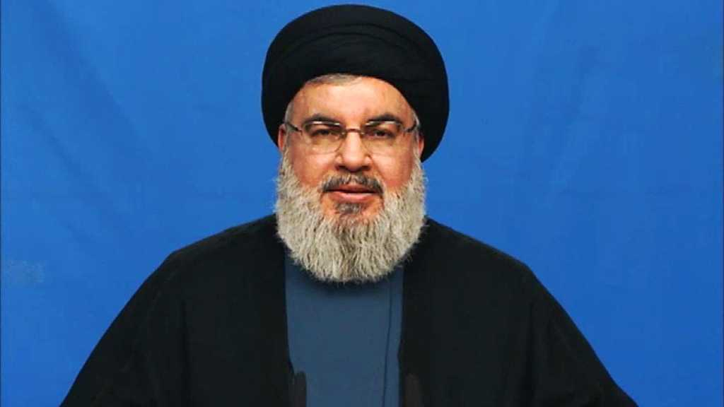 Sayyed Nasrallah Warns of 'Deal of Century': For Speedy Formation of Gov't, Victory Scored in Southern Syria