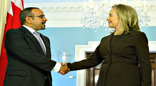 Clinton Approved Arms Sales after Big Donations from Bahrain