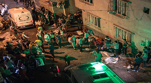 Turkey Wedding Bomb: Suicide Bomber Who Killed 51+ is Teenager