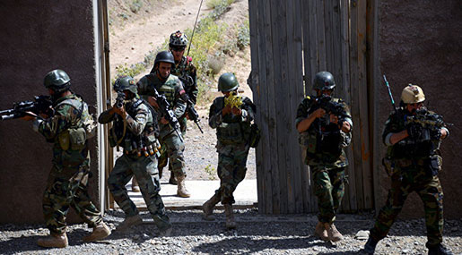 Afghanistan Police Kill Top Taliban Commander in Ghazni Province