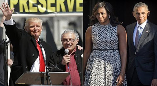 Trump's Campaign Co-Chair: «Michelle Obama Go to Africa, Live with Gorillas»