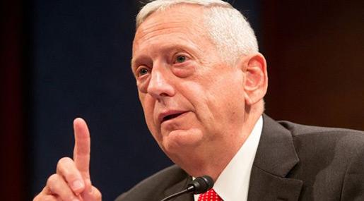 Trump Presidency: PE Names Mattis as War Secretary