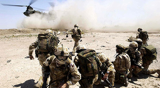 UK Military Specialists Arrive in ME to Train Syrian Militants