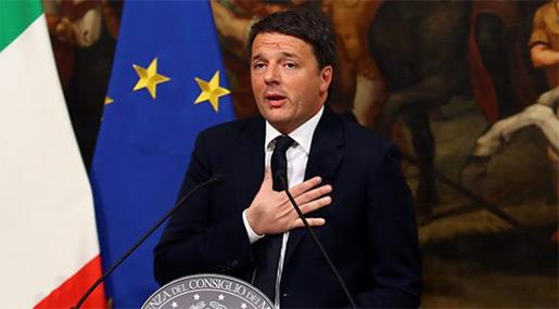 Italian Prime Minstre Matteo Renzi