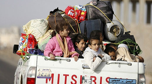 Starving Yemeni Children, Bloated US Weapons Makers