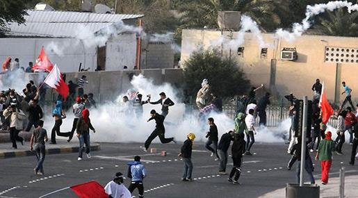 Brutal Regime Forces Attack Bahraini Protesters