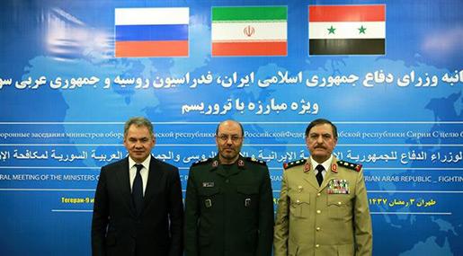 Iran, Russia, Syria Defense Meeting: Anti-Terror Cooperation on Top