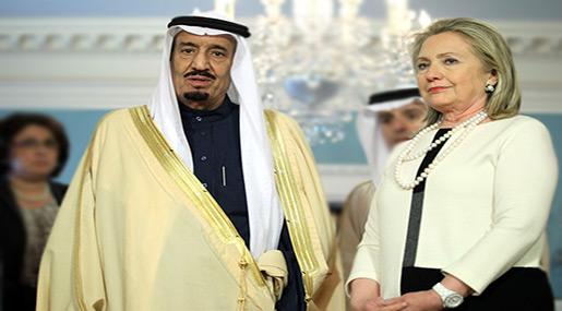 Despite Being Funded by Saudis, Clinton Calls KSA, Qatar, Kuwait to Stop Funding Terrorism...