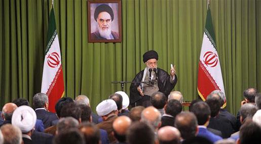 Imam Khamenei Urges Strong Response to US Hostility: Its Scheme in Region Failed