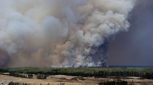 Fort McMurray in Canada