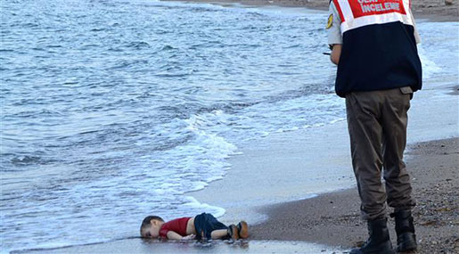 NGOs: Drowned Migrant Baby Photo Wake-Up Call for EU