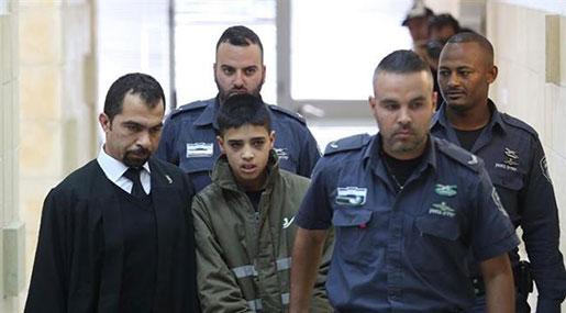 'Israeli' Court Sentences Palestinian Teens to 11 Yrs in Jail