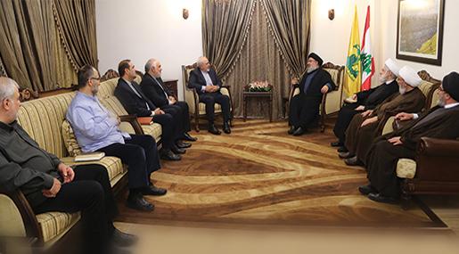 Sayyed Nasrallah Receives Iranian FM