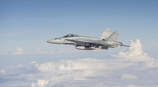 Canadian fighterjet