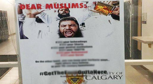 Islamophobia in Canada: Students Angered After Finding Dozens of Anti-Muslim Posters