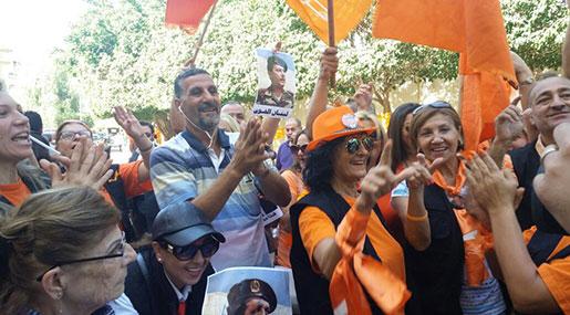 Lebanese Parliament Elects Michel Aoun as President, Celebrations Govern Scene