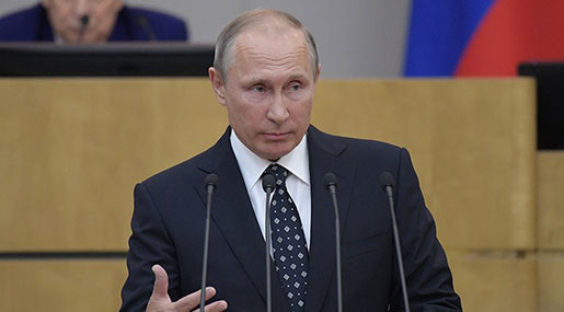 Putin: West Responsible for ME Instability, Terrorism in Europe