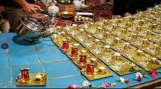Mourning Ceremonies on Tasua Imam Hossein