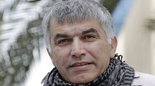 Rights Groups Urge 50 Countries to Call for Nabeel Rajab's Release