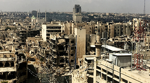 Syrian Crisis: destruction of infrastructure