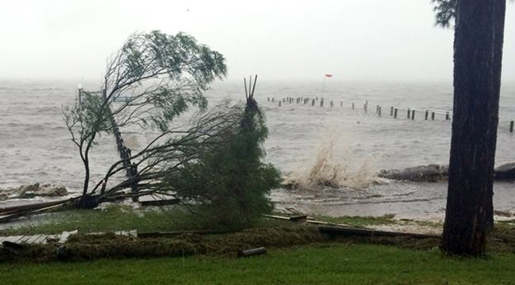 US Floods: Florida Coast Battered by Hurricane Hermine