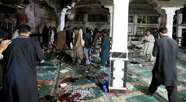 Afghanistan: At Least 20 Martyred in Herat Mosque Attack