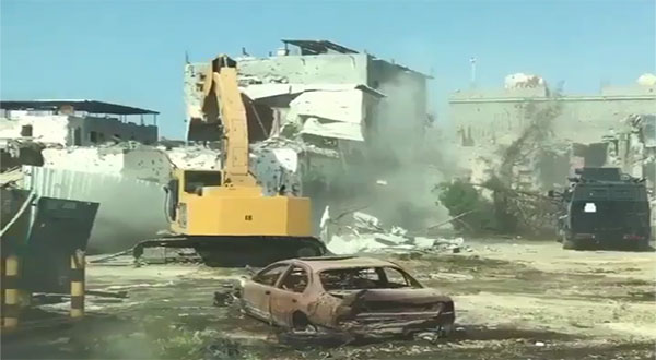 Saudi Crackdown: Bulldozers Reduce Awamia to Rubble, Attacking Residents Continues