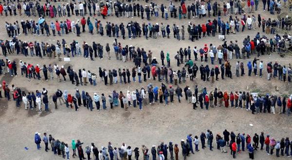 Kenyan voters