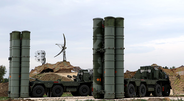 S-400 air defense systed
