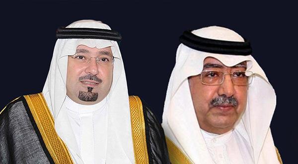 Prince Mishaal bin Abdullah and Prince Faisal bin Abdullah