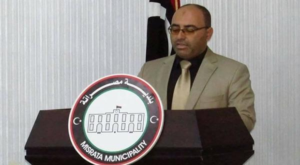 Mohamad Eshtewi, mayor of Libya's third-largest city Misrata