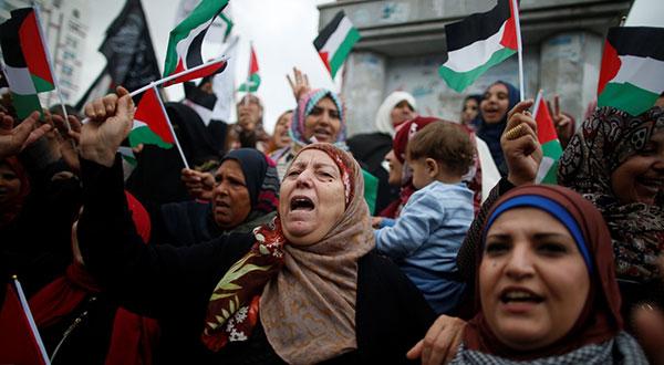 Palestinians Call 'Days of Rage' over Trump's Al-Quds Move