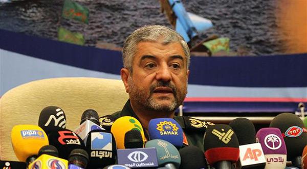 The commander of Iran's elite Revolutionary Guards, Mohammad Ali Jafari