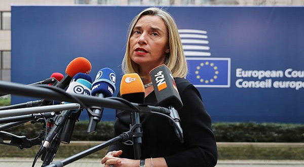 EU's Mogherini: Czech Not to Move Embassy to Al-Quds