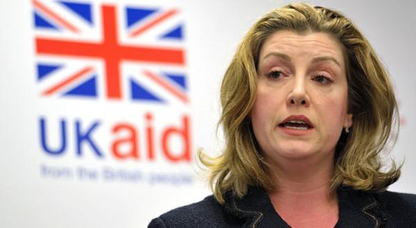 UK minister Penny Mordaunt