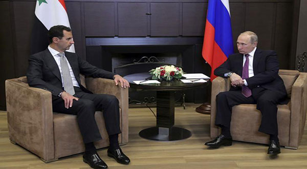 Putin to Al-Assad: Russia will Help Defend Syrian Sovereignty