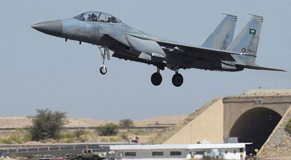Saudi fighterjet