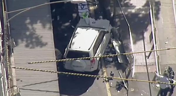 Melbourne car crash