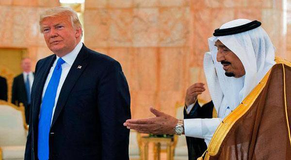 Trump Salman