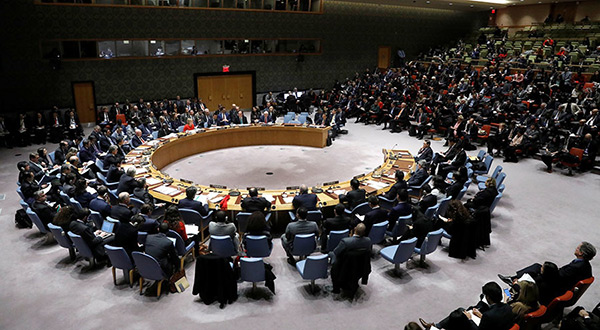 UNSC in session