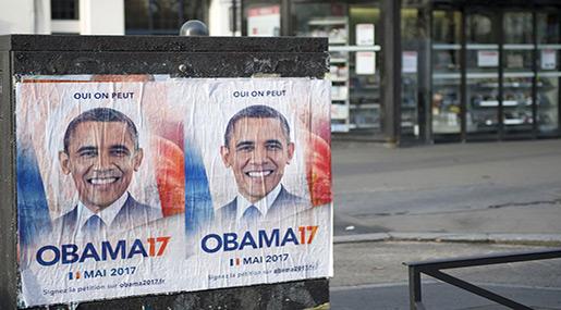 Barack Obama for France President!