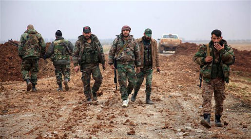 Syrian Army Recaptures Villages on al-Bab S Edge